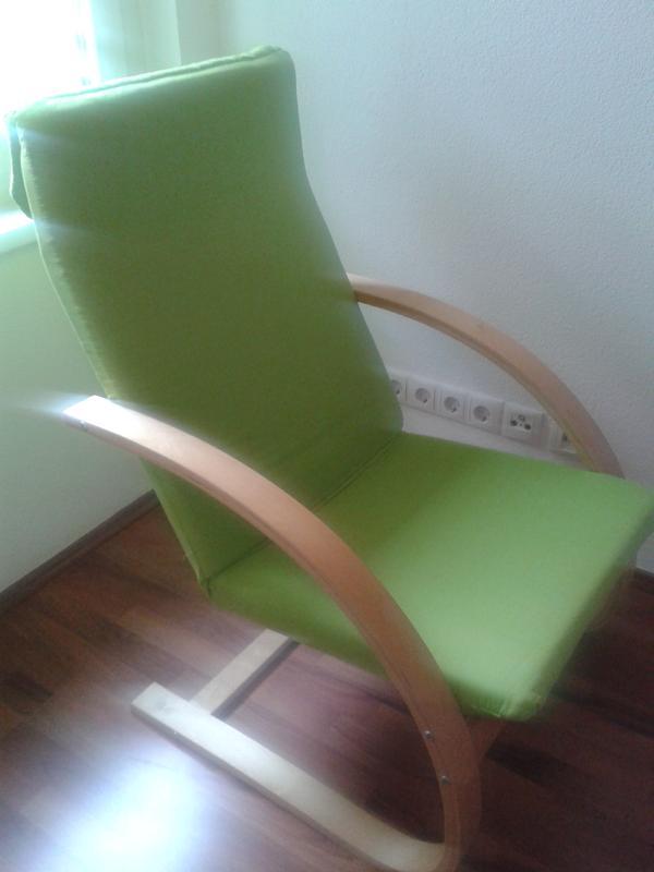 Schaukelstuhl in vandans polster sessel couch kaufen for Schaukelstuhl polster