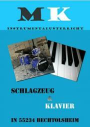 Schlagzeugunterricht  Klavierunterricht