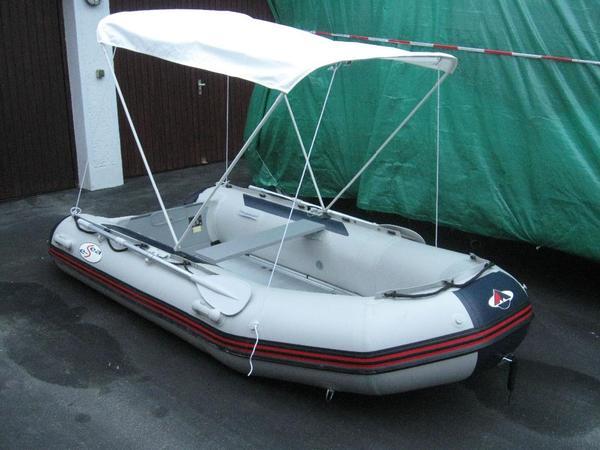 schlauchboot mit elektromotor und zubeh r in hohenpei enberg kanus ruder schlauchboote. Black Bedroom Furniture Sets. Home Design Ideas