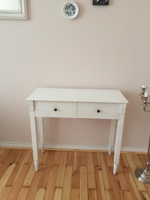 schminktisch kommode wei lackiert holz in mannheim. Black Bedroom Furniture Sets. Home Design Ideas