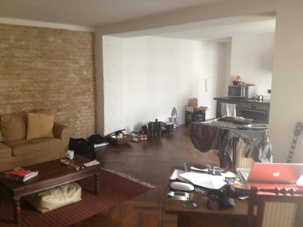 sch ne loft wohnung in prenlauerberg in berlin. Black Bedroom Furniture Sets. Home Design Ideas