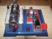 Schöne Wilesco Dampfmaschine