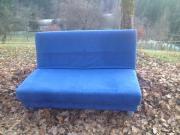 schönes blaues Couch
