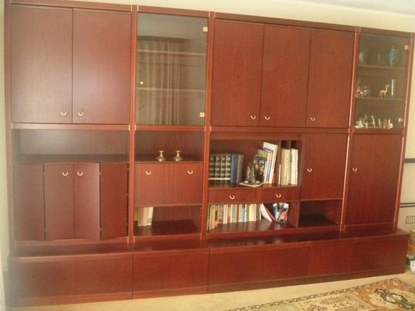 mahagoni schrankwand neu und gebraucht kaufen bei. Black Bedroom Furniture Sets. Home Design Ideas