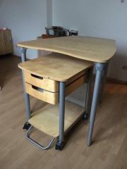 Schreibtisch Buche IKEA