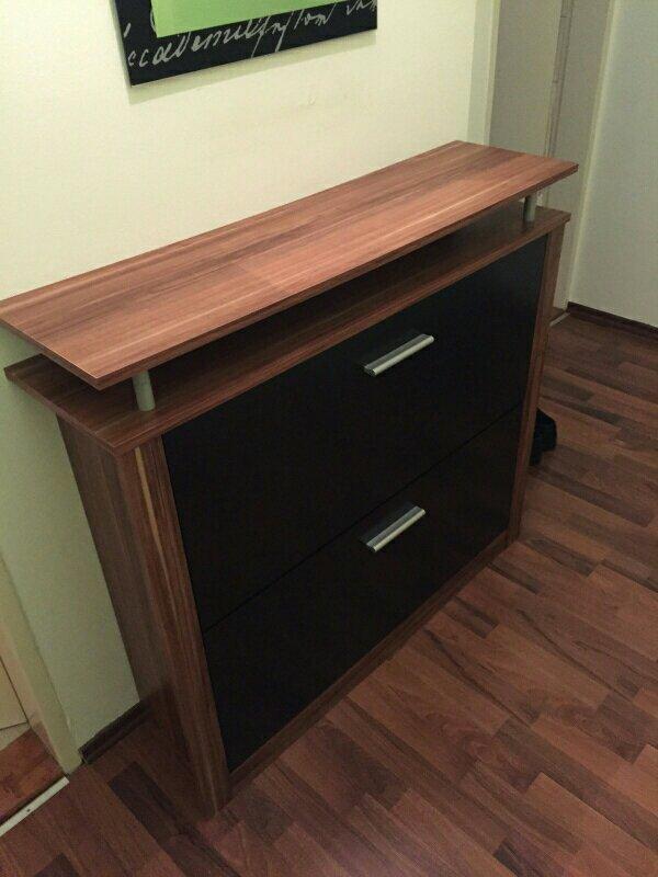 ma e breite 103cm tiefe 28cm h he 95cm gebraucht aber sehr gut in schuss wie ihr seht. Black Bedroom Furniture Sets. Home Design Ideas