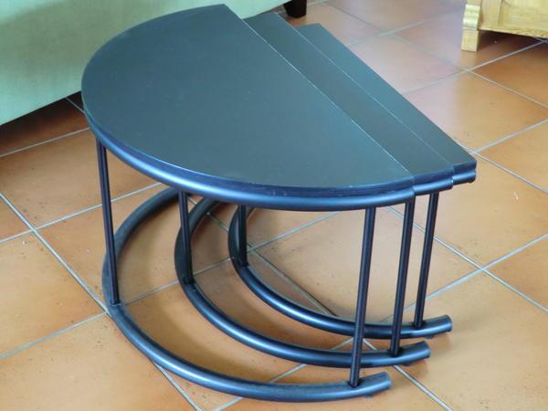 schwarze beistelltische couchtische in unkel kaufen. Black Bedroom Furniture Sets. Home Design Ideas