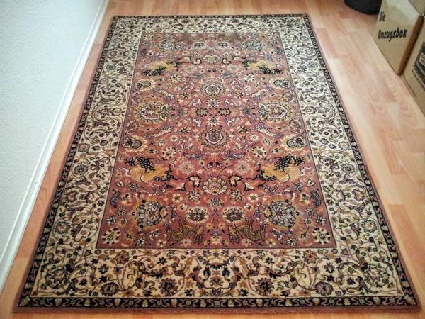 Sehr schöner neuwertiger Nordpfeil Queen Teppich 133 x 200