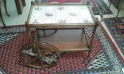 Servierwagen Tisch Antik