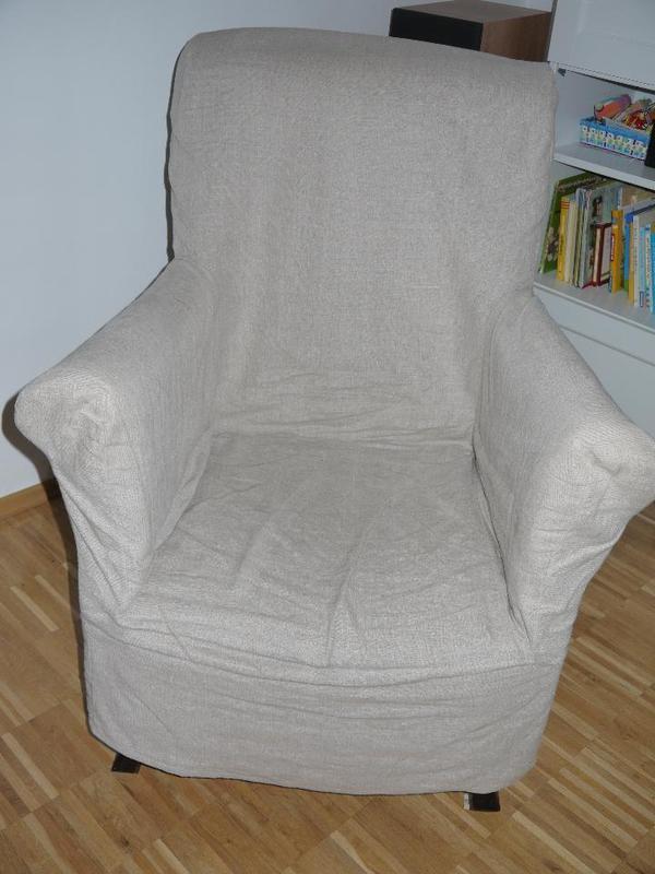Sessel mit sandfarbener husse in m nchen polster sessel for Ohrensessel husse