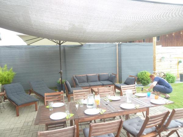 sichtschutz sichtschutzwand windschutz in thal sonstiges f r den garten balkon terrasse. Black Bedroom Furniture Sets. Home Design Ideas