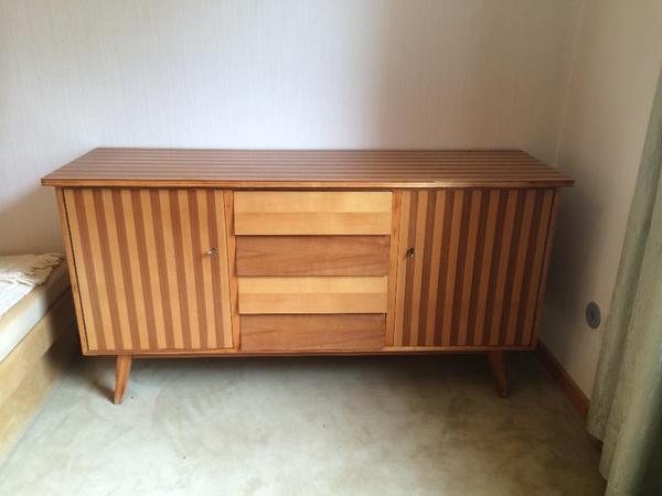 sideboard 50er jahre wk m bel in egling schr nke. Black Bedroom Furniture Sets. Home Design Ideas