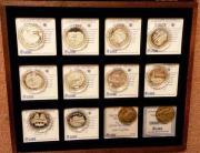 Silbermedaillen-Sammlung