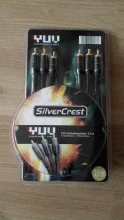 SilverCrest YUV-Verbindungskabel,