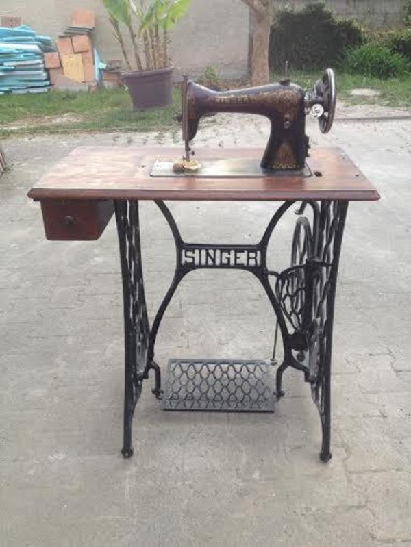 singer n hmaschine antik. Black Bedroom Furniture Sets. Home Design Ideas