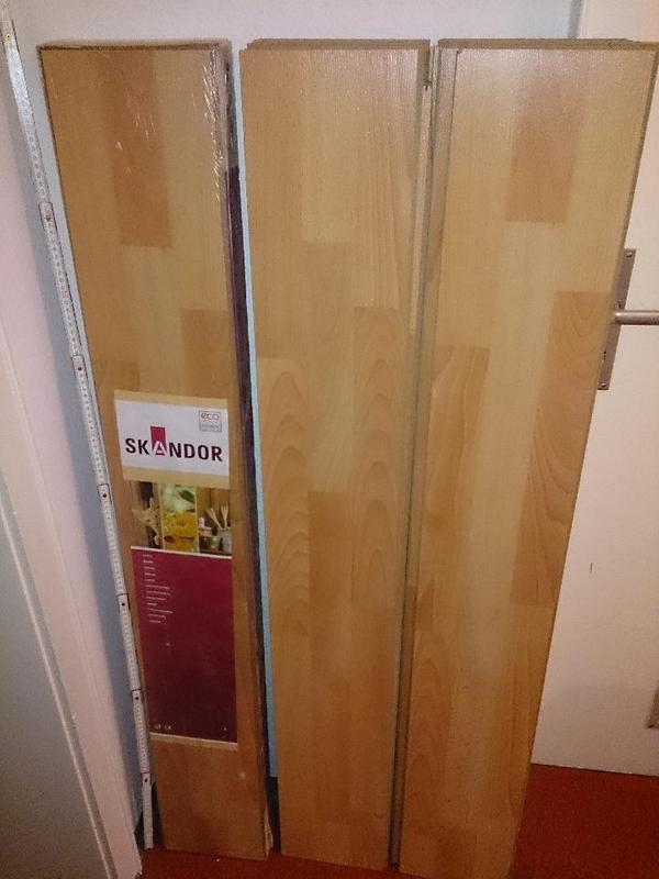 skandor laminat enjoy beech 1 pack ausgepackte panels in. Black Bedroom Furniture Sets. Home Design Ideas