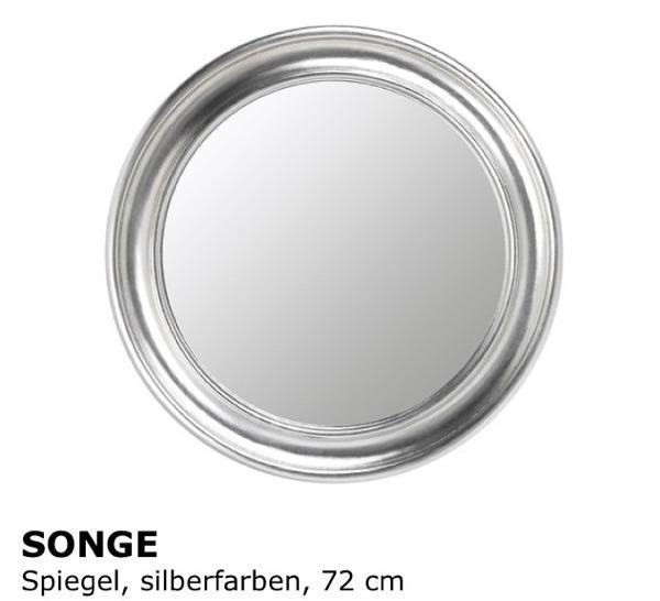 spiegel songe ikea rund silberfarben in n rnberg ikea. Black Bedroom Furniture Sets. Home Design Ideas