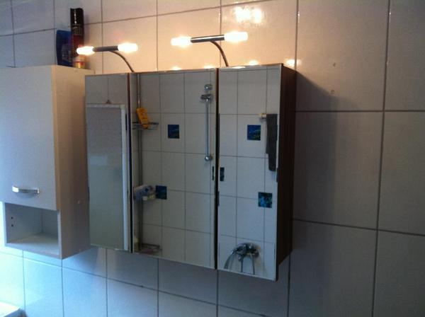 beleuchtung spiegelschrank neu und gebraucht kaufen bei. Black Bedroom Furniture Sets. Home Design Ideas