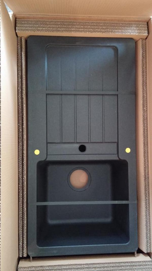 sp le granit 45cm schwarz onyx neu und originalverpackt in stuttgart sp len abzugshauben. Black Bedroom Furniture Sets. Home Design Ideas