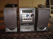 Stereoanlage mit Kasette