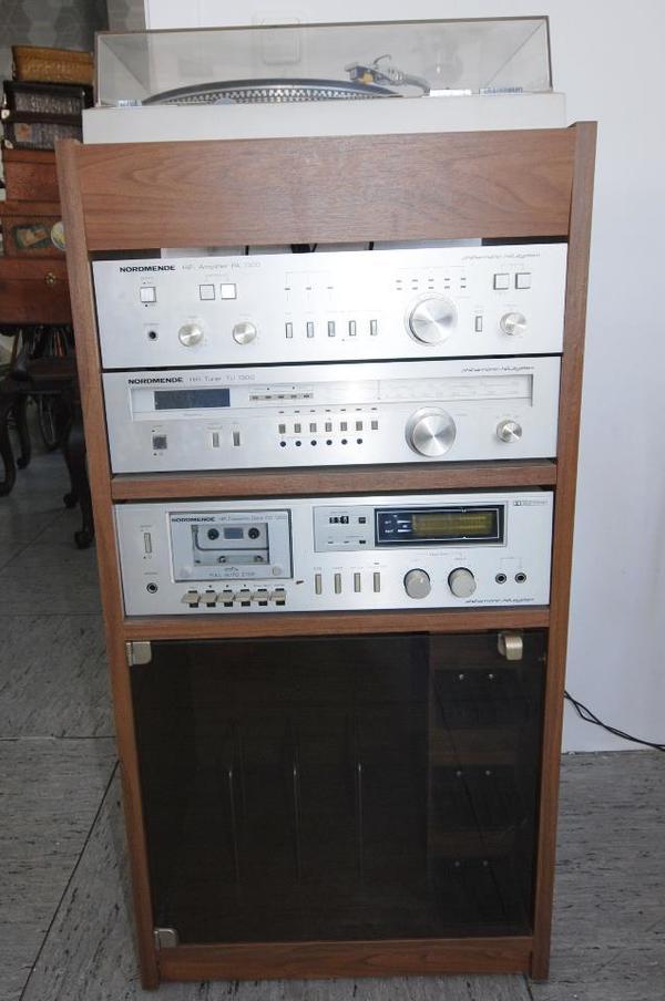 stereoanlage mit rack von nordmende voll funktionsf hig in raunheim stereoanlagen t rme. Black Bedroom Furniture Sets. Home Design Ideas