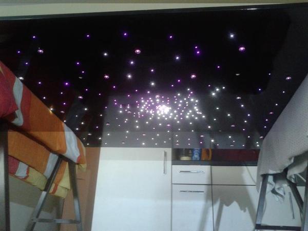 sternenhimmel lampe led in b rs lampen kaufen und. Black Bedroom Furniture Sets. Home Design Ideas