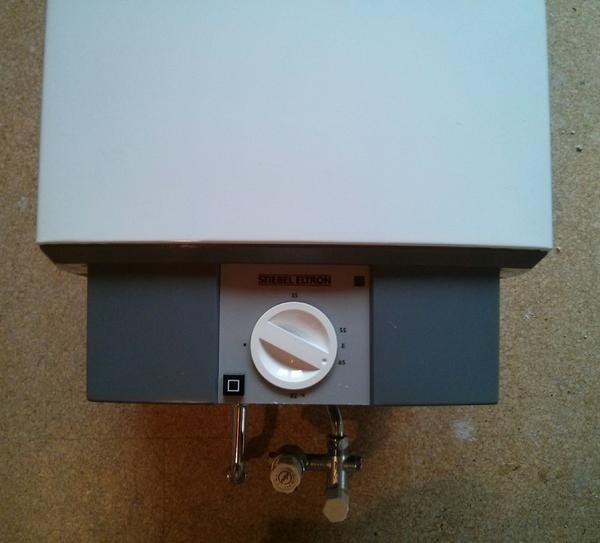 stiebel eltron warmwasserspeicher boiler 80 liter in kirchheim elektro heizungen. Black Bedroom Furniture Sets. Home Design Ideas