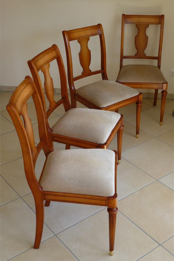 stilm bel warrings 4 st hle kirschbaum in bargteheide stilm bel bauernm bel kaufen und. Black Bedroom Furniture Sets. Home Design Ideas