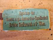 STOLLWERCK AUTOMAT - Holztruhe /