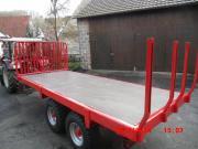 Tandem Plattformwagen Anhänger