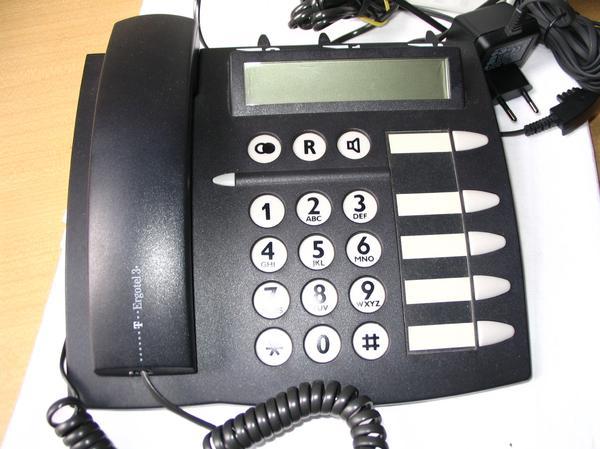 sonstige telefone telefon telekom ergotel 3 ein benutzerfreundliches telefon mit gro tasten. Black Bedroom Furniture Sets. Home Design Ideas