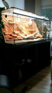 Terrarium Glas 140x70x70