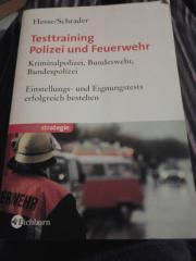 Testtraining Polizei und