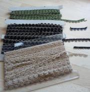 Textil-Bordüren u.