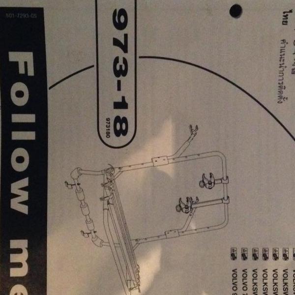 thule 973 backpac fahrradtr ger heck inkl montagekit 973. Black Bedroom Furniture Sets. Home Design Ideas