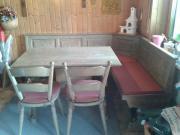 Tisch, Eckbank und