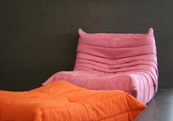 togo ligne roset sessel rose in k ln designerm bel klassiker kaufen und verkaufen ber. Black Bedroom Furniture Sets. Home Design Ideas