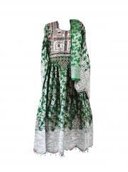 Traditionelles afghanisches Hochzeitskleid