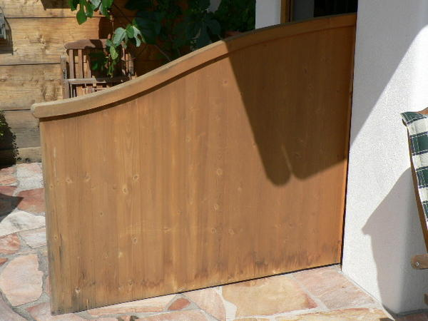 trennwand f r balkon oder terasse in reitrain sonstiges material f r den hausbau kaufen und. Black Bedroom Furniture Sets. Home Design Ideas
