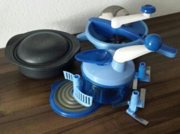 tupperware quick chef ultra und p rierm hle flotte. Black Bedroom Furniture Sets. Home Design Ideas