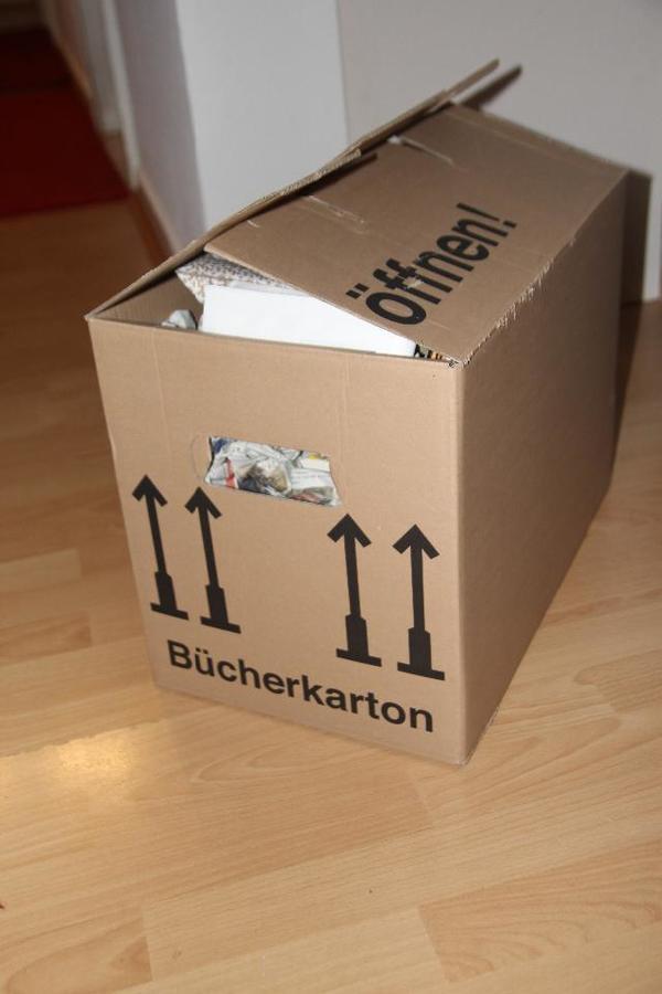 umzugskartons f r b cher ca 57 st ck in mannheim umzugskartons verpackung kaufen und. Black Bedroom Furniture Sets. Home Design Ideas