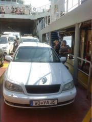 Unfall Opel omega