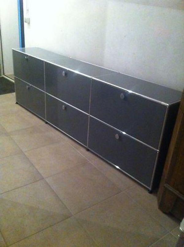 usm haller sideboard wie neu grau in berlin b rom bel kaufen und verkaufen ber private. Black Bedroom Furniture Sets. Home Design Ideas