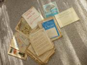 Verkaufe alte Noten