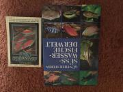 verschiedene Aquarienbücher