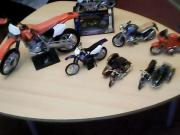 Verschiedene Motorrad Modelle