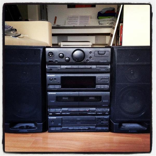Vintage Stereoanlage Pioneer SXP520  in Mannheim  -> Tv Lowboard Quoka Mannheim