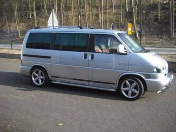 volkswagen bus van kleinbus benzin 150 kw 235000 km ez 09 2001 schaltgetriebe silber. Black Bedroom Furniture Sets. Home Design Ideas