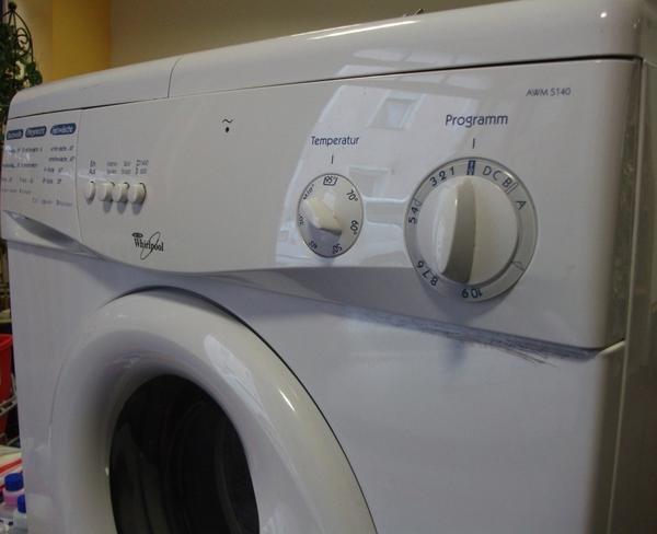 Waschmaschine Whirlpool AWM 5140 Ersatzteile Heizung