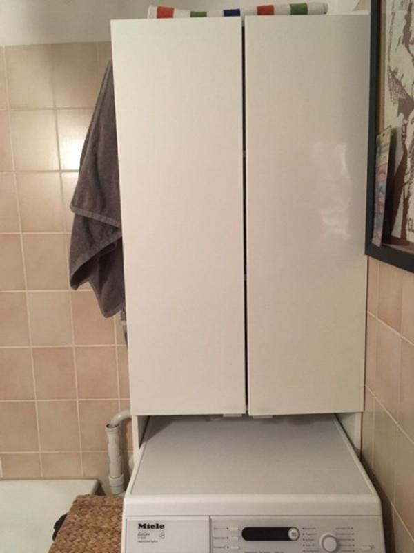 waschmaschinenschrank kaufen gebraucht und g nstig. Black Bedroom Furniture Sets. Home Design Ideas
